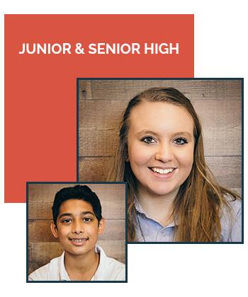 Junior and Senior High Grades 7 - 12