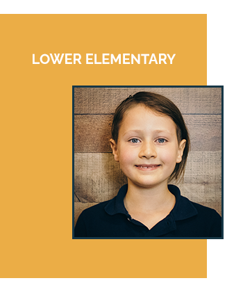 Lower Elementary Ages 6-9