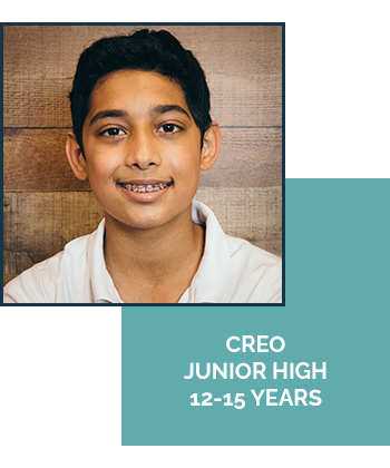 CREO Junior High Ages 12-15